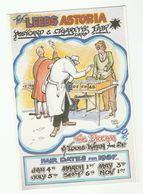 1986 CARTOON By FRED CAMP  Leeds Astoria POSTCARD & CIGARETTE CARD FAIR 1987 ADVERT Gb Hotel - Bourses & Salons De Collections