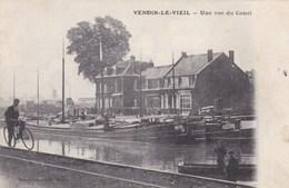 Vendin Le Vieil, Une Vue Du Canal, Péniches (pk47169) - France