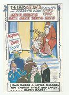 1987 CARTOON By FRED CAMP  Leeds Astoria CHRISTMAS POSTCARD & CIGARETTE CARD FAIR 1988  ADVERT Gb Hotel - Santa Claus