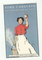 1993 YORK CARDEXPO Advert International Postcard Show York Racecourse   Gb - Collector Fairs & Bourses