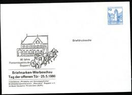 Bund PU116 D2/002 Privat-Umschlag POSTAMT BOPPARD POSTKUTSCHE 1986 - Post