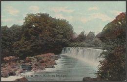 Niagara Weir, Wadsley Bridge, Sheffield, Yorkshire, C.1905-10 - Bernard P Hall Glossette Postcard - Sheffield