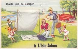 L'ISLE ADAM  -- Carte à Système - L'Isle Adam