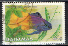 BAHAMAS - 1986 - PESCE: GAMMA LORETO - USATO - Bahamas (1973-...)
