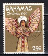 BAHAMAS - 1980 - NATALE: ANGELO - USATO - Bahamas (1973-...)