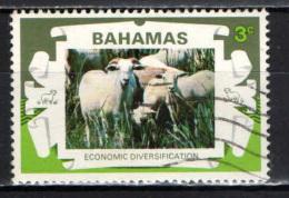 BAHAMAS - 1975 - ALLEVAMENTO DELLE PECORE - USATO - Bahamas (1973-...)