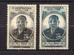 INDE  - 234/235* - FELIX EBOUE - India (1892-1954)