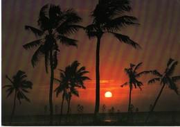 ÎLE MAURICE - MAURITIUS - COUCHER DE SOLEIL SUR LA POINTE AUX PIMENTS - Mauritius
