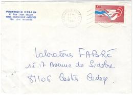 FRANCIA - France - 1981 - 1,60 Centenaire De La Caisse Nationale D'Epargne - Seul - Viaggiata Da Charleville-Mézières Pe - Storia Postale