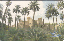 OMAN(chip) - Al Araki Fort(lbri), Chip GEM3.3, 09/02, Used - Landschaften