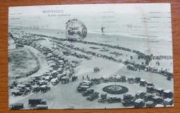 Tarjeta Postal Montevideo - Playa  Carrasco - 1924 - Uruguay