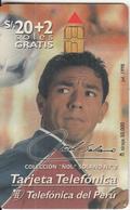 PERU - Nol Solano 2, Telefonica Telacard, Tirage 50000, 07/98, Used - Peru