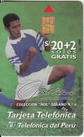 PERU - Nol Solano 4, Telefonica Telacard, Tirage 50000, 07/98, Used - Peru