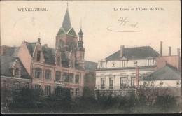 Wevelghem / La Poste Et L'Hôtel De Ville - Wevelgem