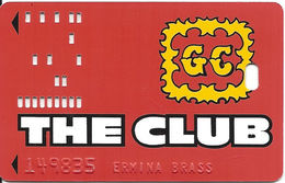 Gold Coast Casino - Las Vegas - 2nd Issue Slot Card With Raised Printing For Card Design - Casino Cards