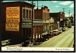 Virginia City / Nevada  -  Street : Territorial Enterprise  -  Ansichtskarte Ca.1960    (8714) - Etats-Unis
