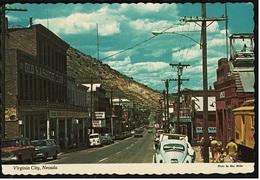 Virginia City / Nevada  -  Main Street  Downtown -  Ansichtskarte Ca.1960    (8718) - Etats-Unis