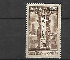 France 1935 Saint Trophime D' Arles  Cat Yt N° 302    N* MLH - Frankreich