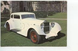 Delage D 8/S - 1932 - Collection Chassaing De Borredon Le Bec Helloin Musée Automobile De L'abbatiale (cp Vierge) - PKW