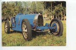 BugattiGrand Prix 35A 1926 - Collection Chassaing De Borredon Le Bec Helloin Musée Automobile De L'abbatiale (cp Vierge) - Passenger Cars