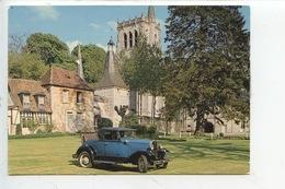 Ford A 1931 - Collection Chassaing De Borredon Le Bec Helloin Musée Automobile De L'abbatiale (cp Vierge) - PKW