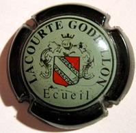 CAPSULE PLAQUE DE MUSELET CHAMPAGNE LACOURTE GODBILLON ECUEIL - Champagne