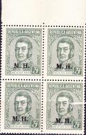 Argentinien - Dienst/service Mit Aufdruck Für Finanzministerium (MiNr: III B 403) 1935 - Postfrisch MNH - Oficiales