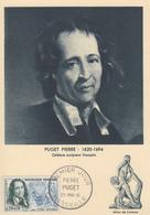 Carte  Maximum  1er  Jour    FRANCE   Pierre   PUGET     MARSEILLE     1961 - Cartes-Maximum