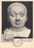 Carte  Maximum  1er  Jour    FRANCE   DU  GUESCLIN     BROONS     1961 - Cartes-Maximum