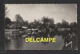 DF / 94 VAL DE MARNE / NOGENT SUR MARNE / L' ÎLE DE BEAUTÉ , AVIRON SUR LA MARNE / CIRCULÉE EN 1955 - Nogent Sur Marne