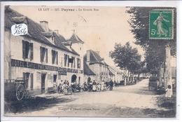 PAYRAC- LA GRANDE-RUE- HOTEL-CAFE PAIX ROSSIGNOL - France