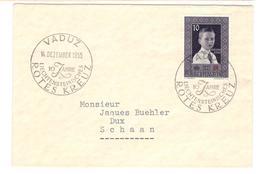 3524 - Croix Rouge - Liechtenstein