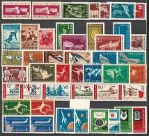 BULGARIA / BULGARIE - 1959 - Anne Complet - Neuf ** - Yv 953/92 + PA 75/77a - Komplette Jahrgänge