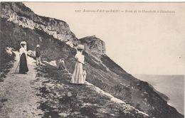 Cp , 73 , AIX-les-BAINS , Environs , Route De La Chambotte à Chindrieux - Aix Les Bains