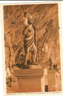 LANTOSQUE - Statue De Saint Christophe A  N D De La Balme   73 - Lantosque