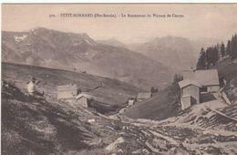 Cp , 74 , PETIT-BORNAND , Le Restaurant Du Plateau De Cenyse - Frankrijk