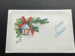 BONNE ANNEE Lanterne - 1971 - Neujahr