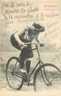 NOS CYCLISTES PAR BERGERET FEMME COUREUR - Cyclisme