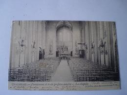 Quatrecht - Kwatrecht (Wetteren) Pensinnat Et Ecole Professionnelle - Chapelle // 1906 Zeldzaam - Rare - België
