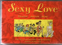 JEU    SEXY LOVE          104 CARTES       DESSINS DE WOLINSKI - Other Collections