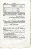 ORDONNANCE SERVICE DES POSTES 28 FEVRIER 1830 REPARTION DE CREDIT CREATION BUREAU DE POSTE - Historical Documents