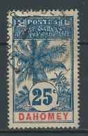 DAHOMEY 1906/07 . N° 24 . Oblitéré. - Dahomey (1899-1944)