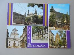 POLOGNE KRAKOW  CRACOVIE KOSCIOLY - Pologne