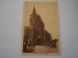 Kastel - Castel (Hamme) Kerk En Omgeving (met Volk) 19?? - België