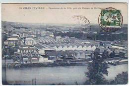 08. CHARLEVILLE . PANORAMA DE LA VILLE PRISE DU PLATEAU DE BERTHAUCOURT . Editeur FLOQUET - Charleville