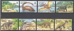 D760 SOLOMON ISLANDS FAUNA PREHISTORIC ANIMALS DINOSAURS 1SET MNH - Vor- U. Frühgeschichte