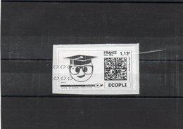 Vignette Sur Fragment Oblitéré Mon Timbre En Ligne Ecopli 50g - Personnalisés (MonTimbraMoi)