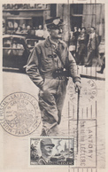 Carte  Maximum   FRANCE   Général   LECLERC    ANTONY   1948 - Cartes-Maximum