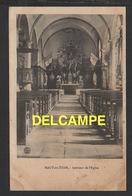 DF / 70 HAUTE SAÔNE / HAUT-DU-THEM-CHÂTEAU-LAMBERT / INTÉRIEUR DE L' ÉGLISE / CIRCULÉE EN 1915 - Altri Comuni