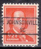 USA Precancel Vorausentwertung Preo, Locals South Carolina, Johnsonville 841 - Vorausentwertungen